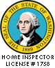 Washington State Licensed Home Inspector Seal